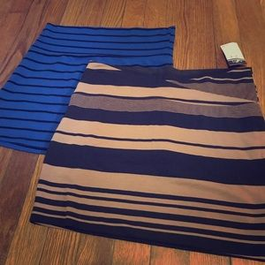 Two new bodycon skirts